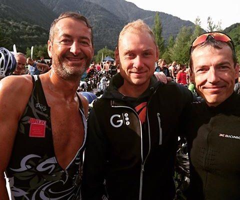 Creusot Triathlon remporte le Triathlon LD de l'Alpe d'Huez en relais