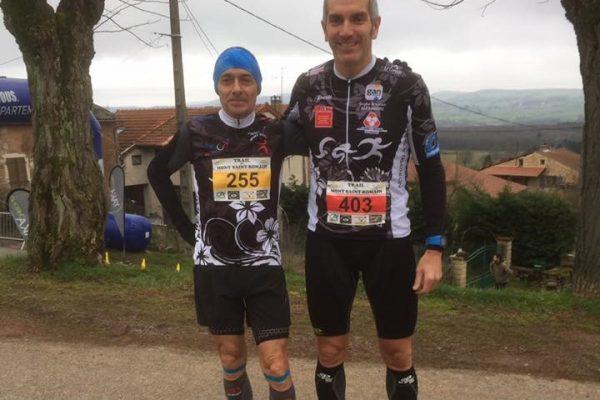 Résultats Trail Mont St Romain